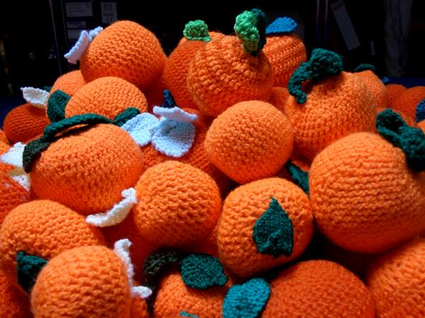 100 Crocheted Oranges