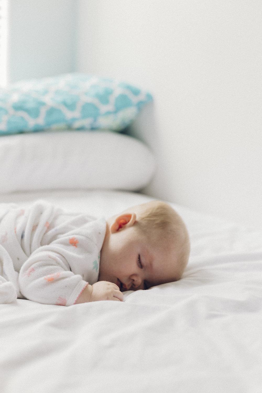 Få et barn som sover -