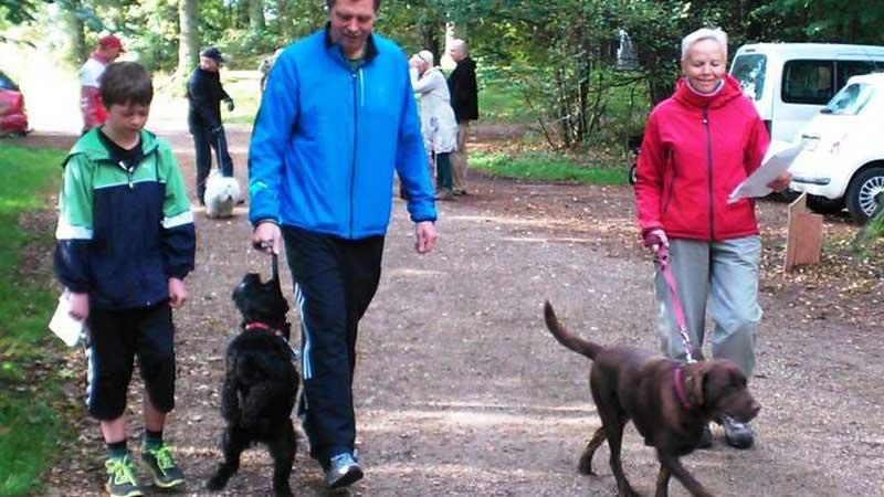 motioner med din hund -