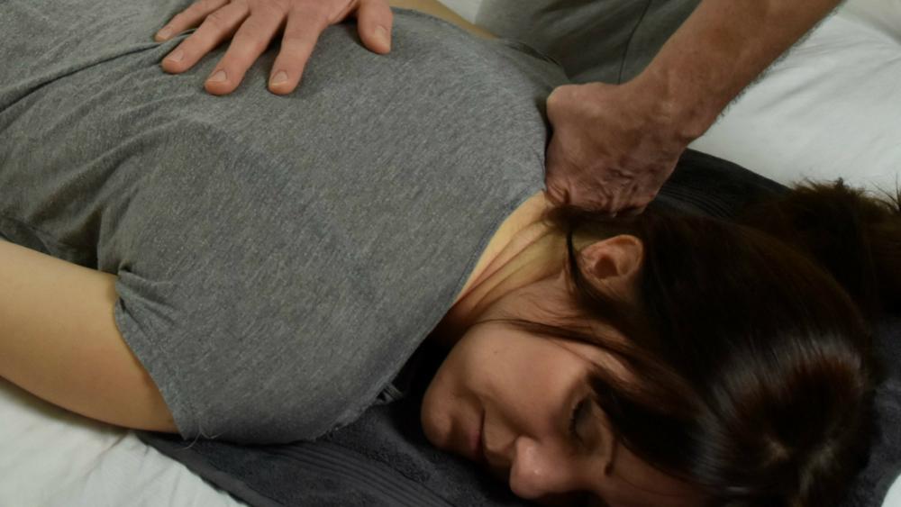 Shiatsu massage -