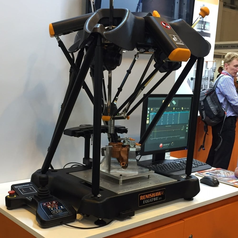 District Designs - Advanced Engineering show Renishaw Equator
