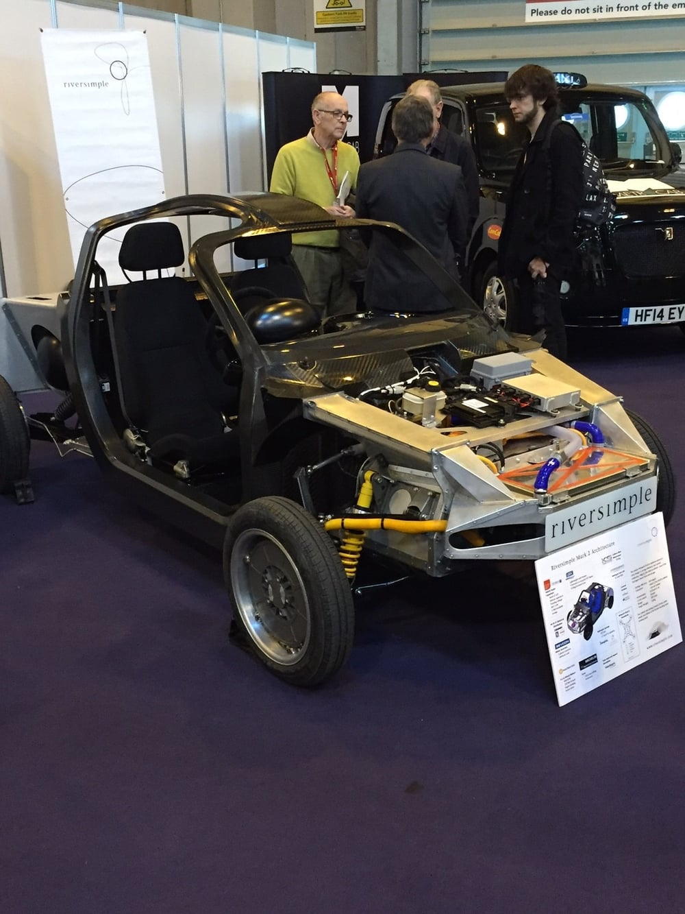 District Designs - hydrogen fuel cell car Riversimple