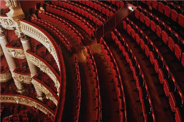 Amphithéâtre, salle du Palais Garnier © Jean-Pierre Delagarde / OnP