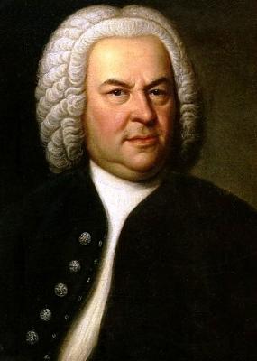 Portrait de Bach.