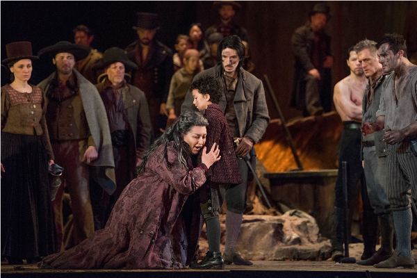 Anita Rachvelishvili © Karen Almond / Metropolitan Opera