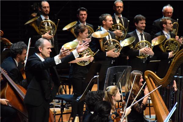 François-Xavier Roth à la Philharmonie de Paris ©Mathias Couquet