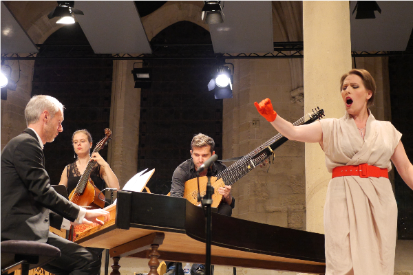 Ensemble Correspondances avec Lucile Richardot.