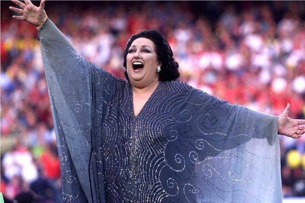 Montserrat Caballé © REUTERS
