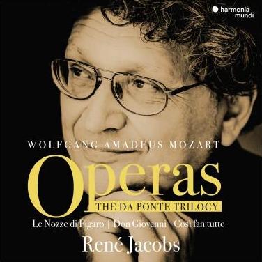 René Jacobs - Parce qu'ils aiment bien l'opéra et qu'ils adorent Mozart, votre oncle et votre tante recevront ce beau coffret avec bonheur. Le chef baroque René Jacobs ne se contente pas de reconstituer un son avec des instruments d'époque. Il réinvente l'approche des trois chefs-d'œuvre avec une pertinence remarquable qui renouvelle totalement l'écoute.René Jacobs - The Da Ponte Trilogy (harmonia mundi)