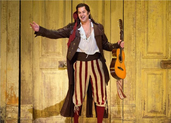 Il Barbiere di Siviglia (1816) - ROSSINIQui a dit qu'on ne faisait que pleurer à l'opéra ? Rien de tel qu'un petit Barbier de Séville pour se rafraichir les idées reçues et surtout se divertir avec une musique qui pétille de fantaisie.© Marty Sohl / Metropolitan Opera