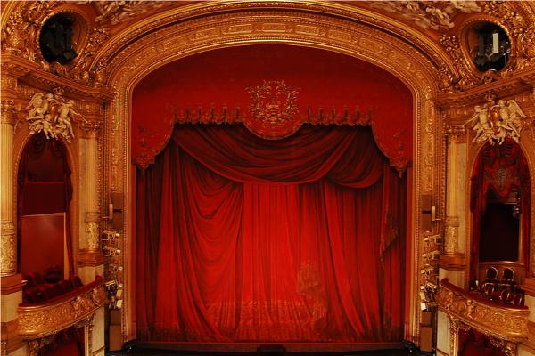 Royal Swedish Opera à Stockholm.