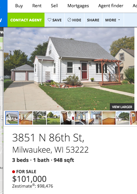 Milwaukee rental homes