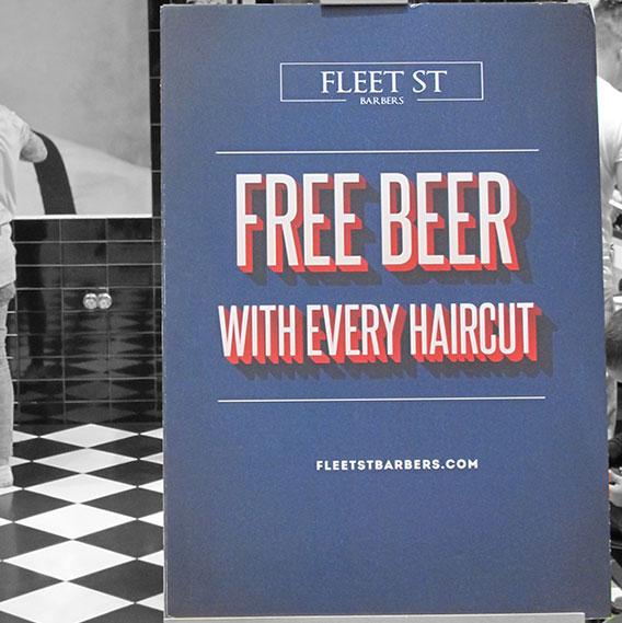 Image: Fleet Street Barbers