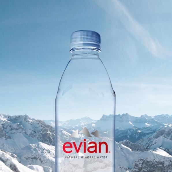 Image: Evian Instagram