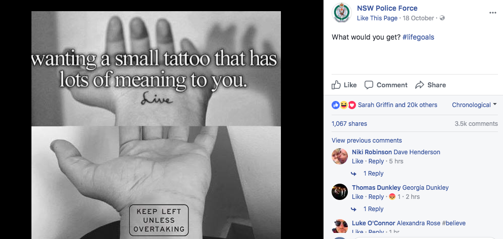 Image: NSW Police Facebook
