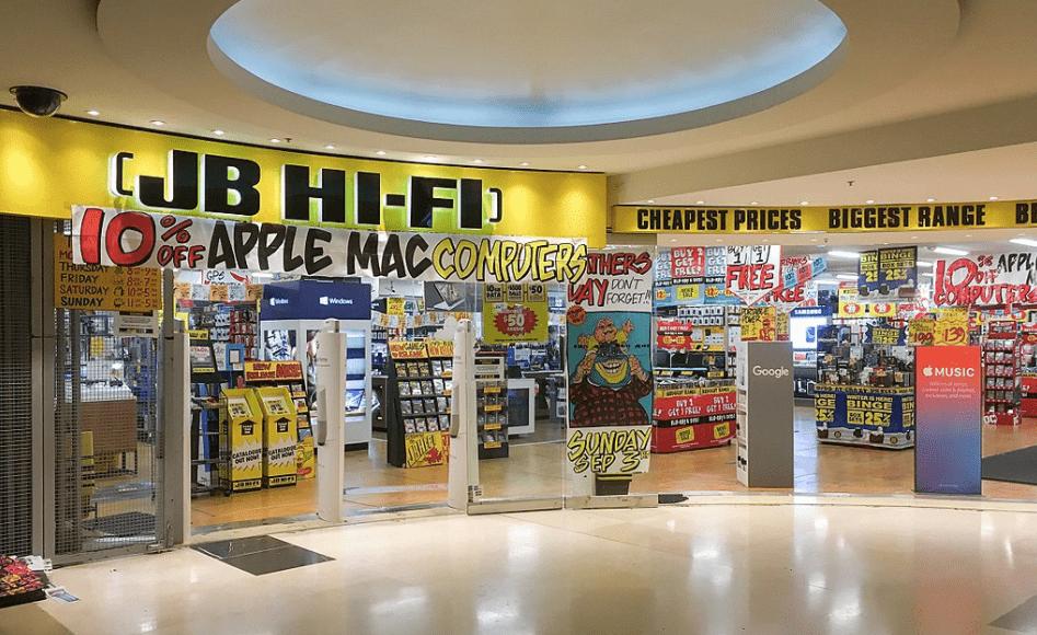 JB Hifi Brand Lovemark