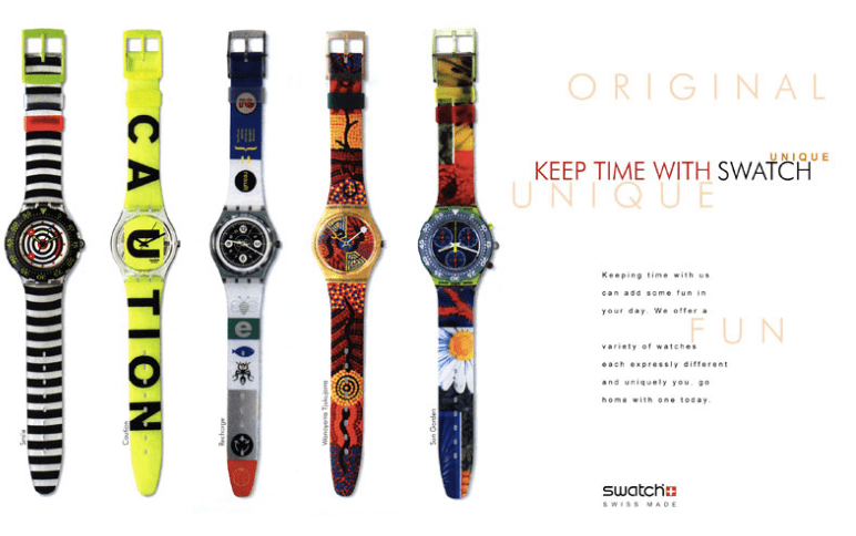 Swatch Value Proposition