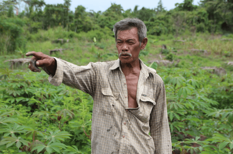 Smallholder farmer in Indonesia