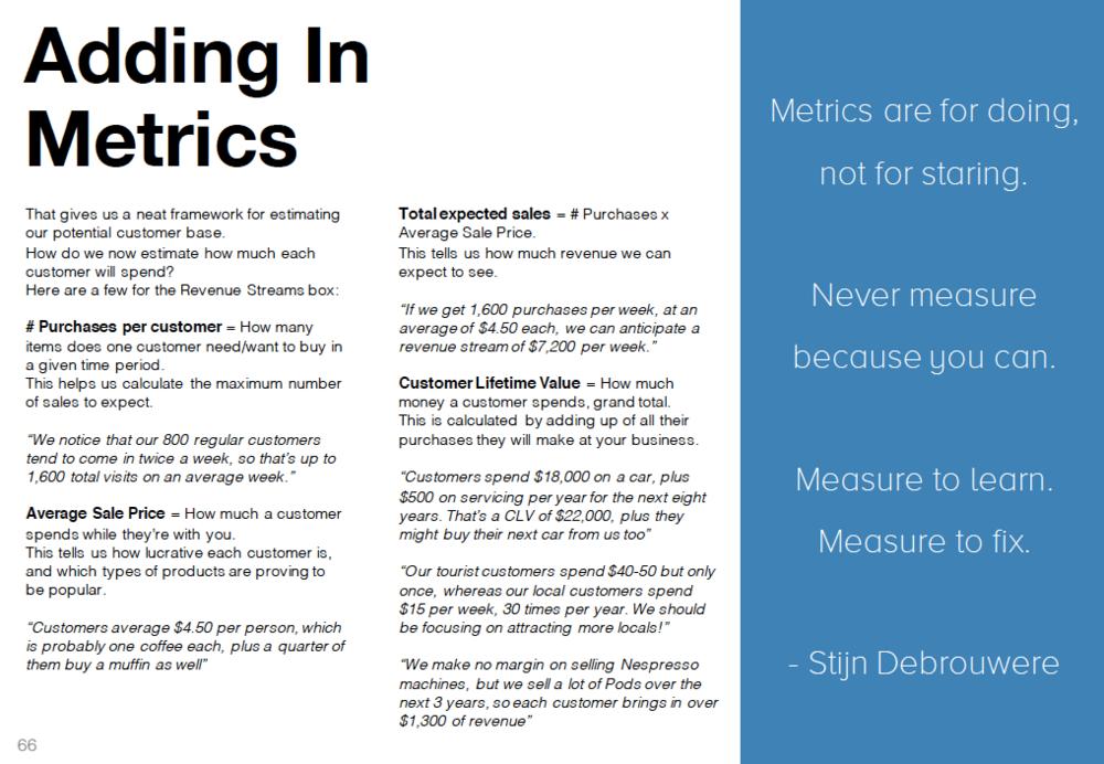 Business Model Metrics