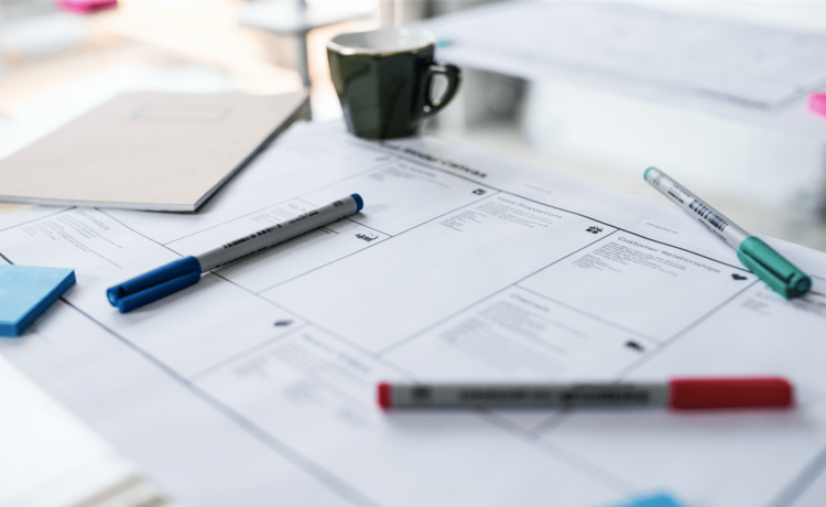 how to fill in a business model canvas isaac jeffries