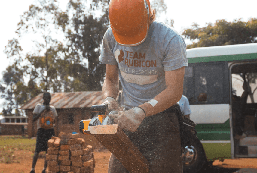 Skilled and unskilled volunteering
