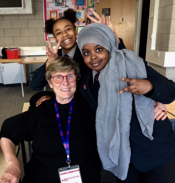 Linda, Avesha and Iman discuss the joys of teaching as part of the Haverstock Journalism Project, managed by Danielle Corgan.