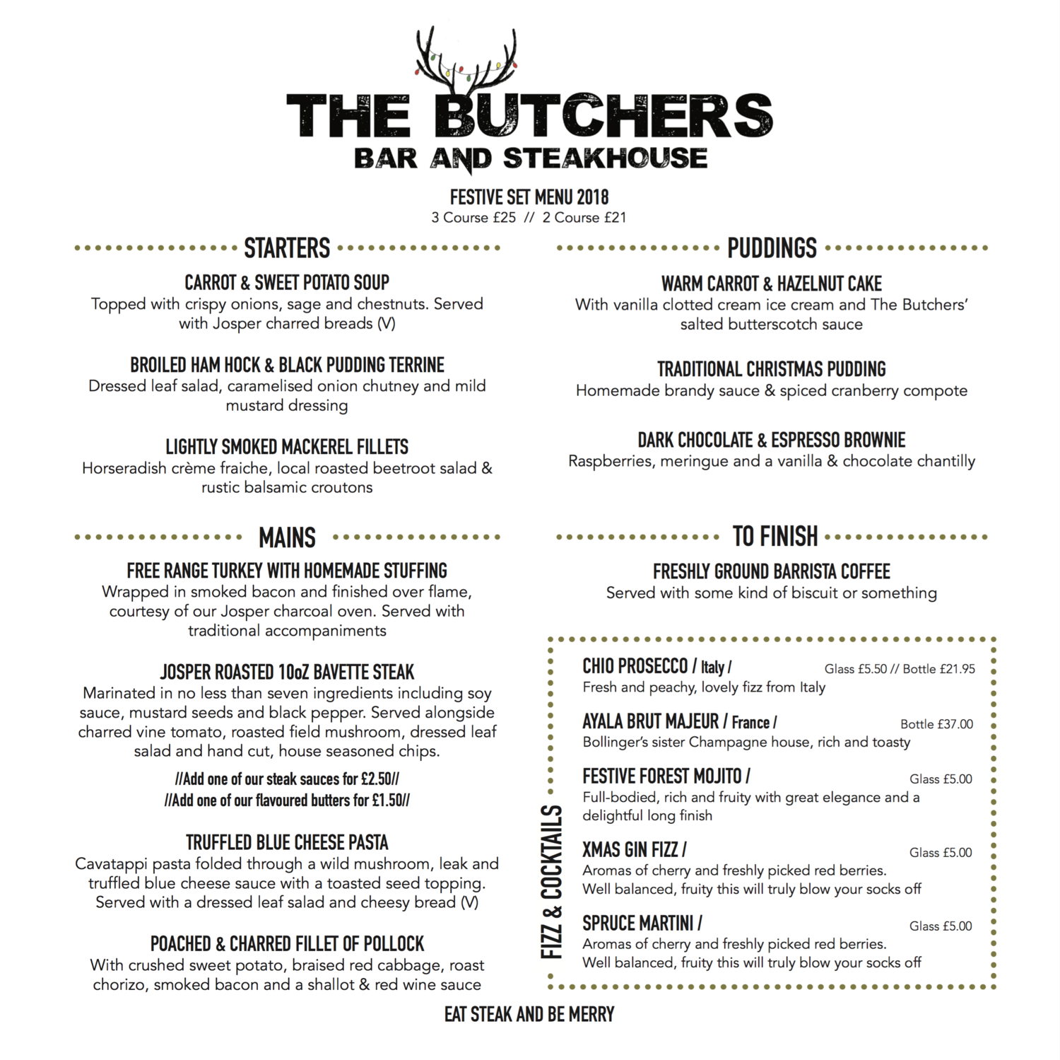 The Butchers Bar and Steakhouse