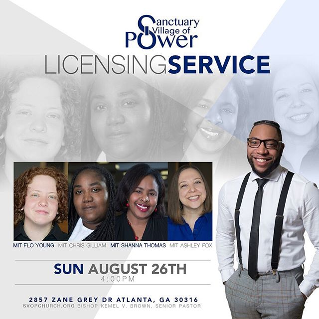 Look what time it is! We are so proud of our ministers in training. Join us as they are elevated. We hope to see you Sunday!