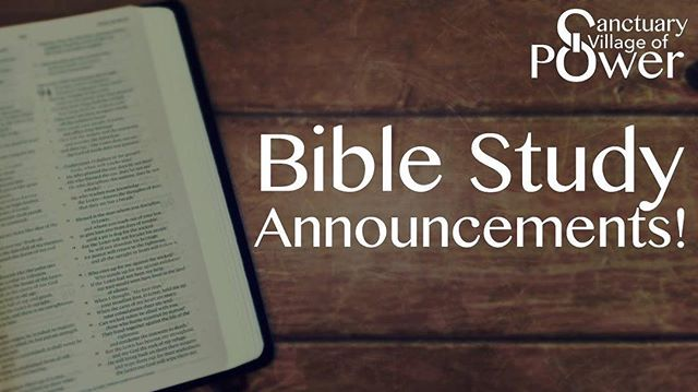 Good evening, due to the inclement weather and power outages that some are already experiencing, we will be cancelling Bible study tonight. Please stay safe and we will see you all as we serve on Saturday morning.