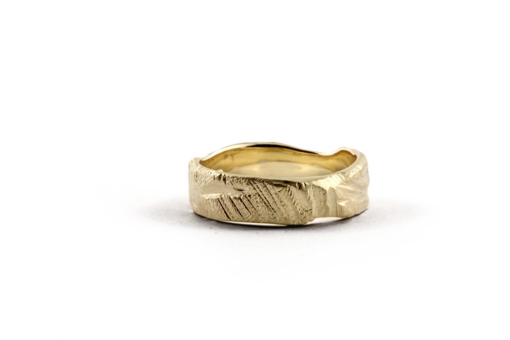 Golden Mountain Bespoke Ring