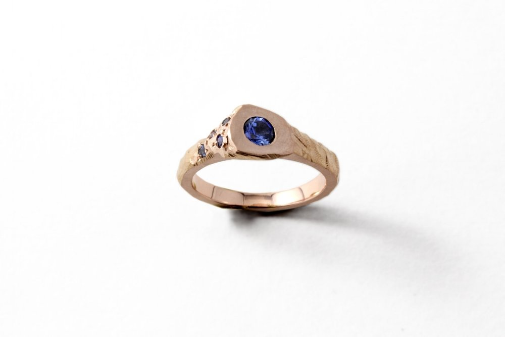 Sapphire Summit Ring