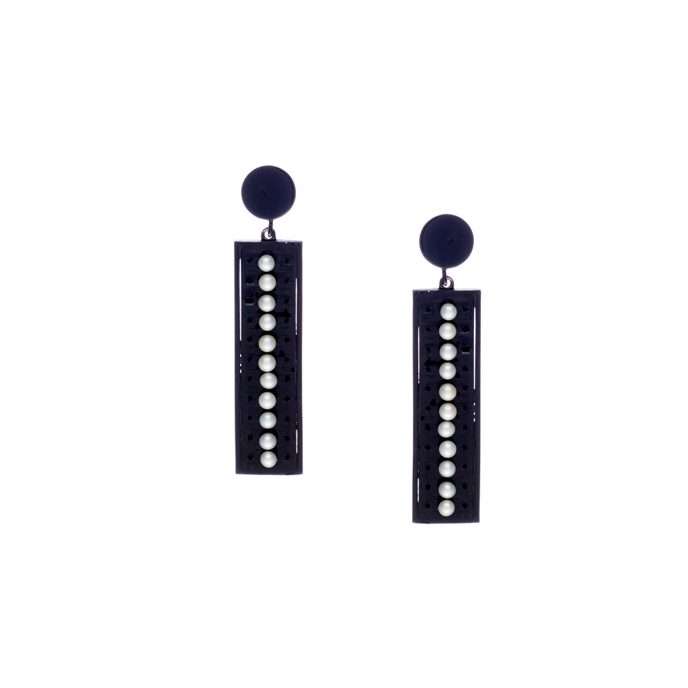 Marquee Noir - Earrings