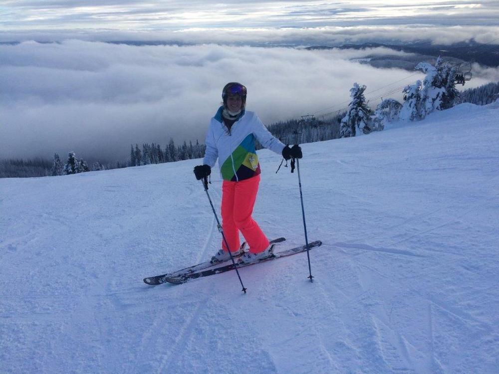 Jess Lasky at Sun Peaks
