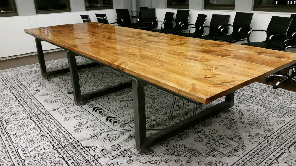 Steel Conference Table