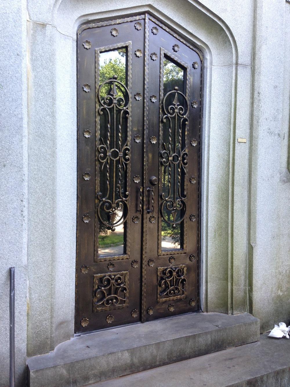 mausoleum doors, Westchester