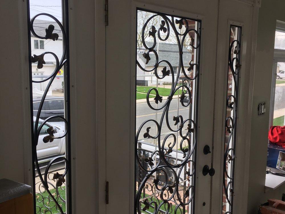Wrought Iron Front Porch Door Screens