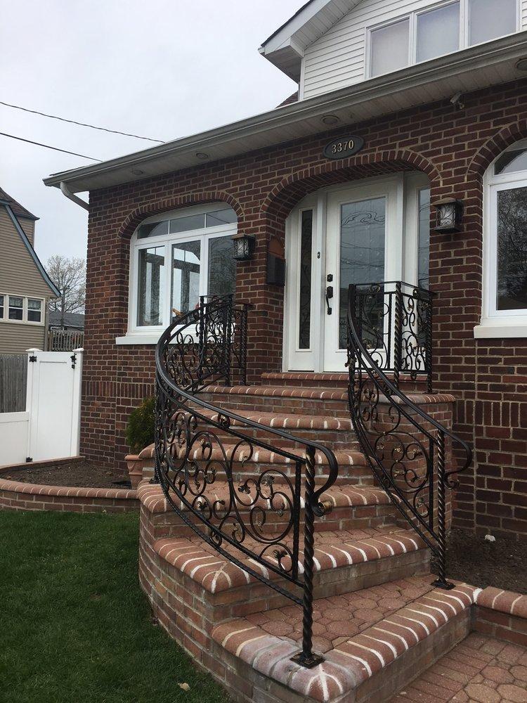 Wrote Iron Porch Railing