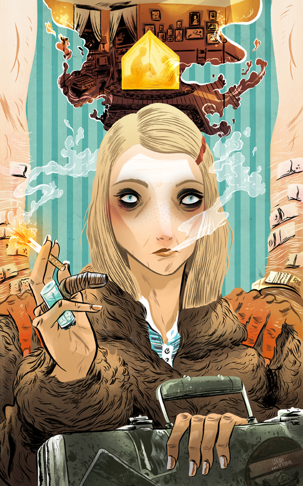 Margot Tenenbaum by Logan Faerber