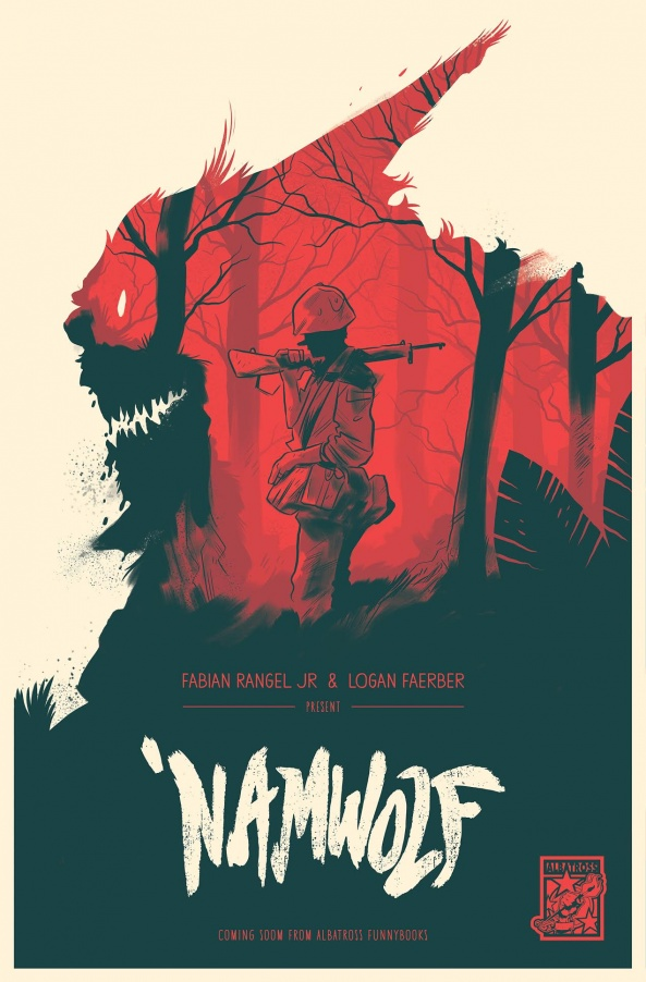 'NAMWOLF by Logan Faerber and Fabian Rangel Jr. for Albatros Funny Books