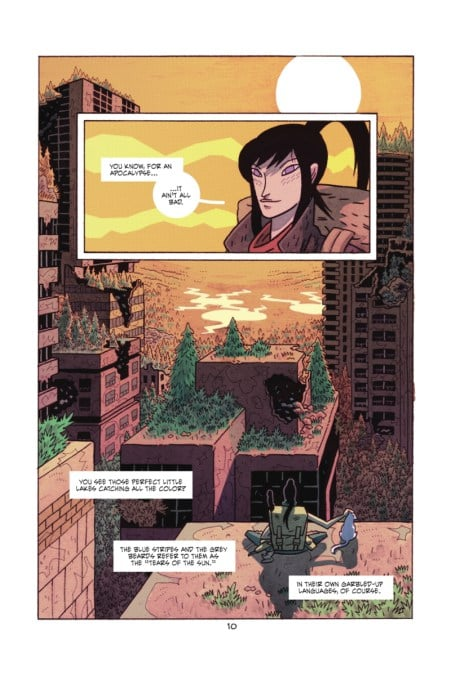 ApocalyptiGirl: An Aria For The End Of Times TPB page