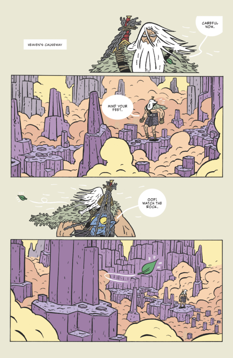 Head Lopper Vol. 1 page