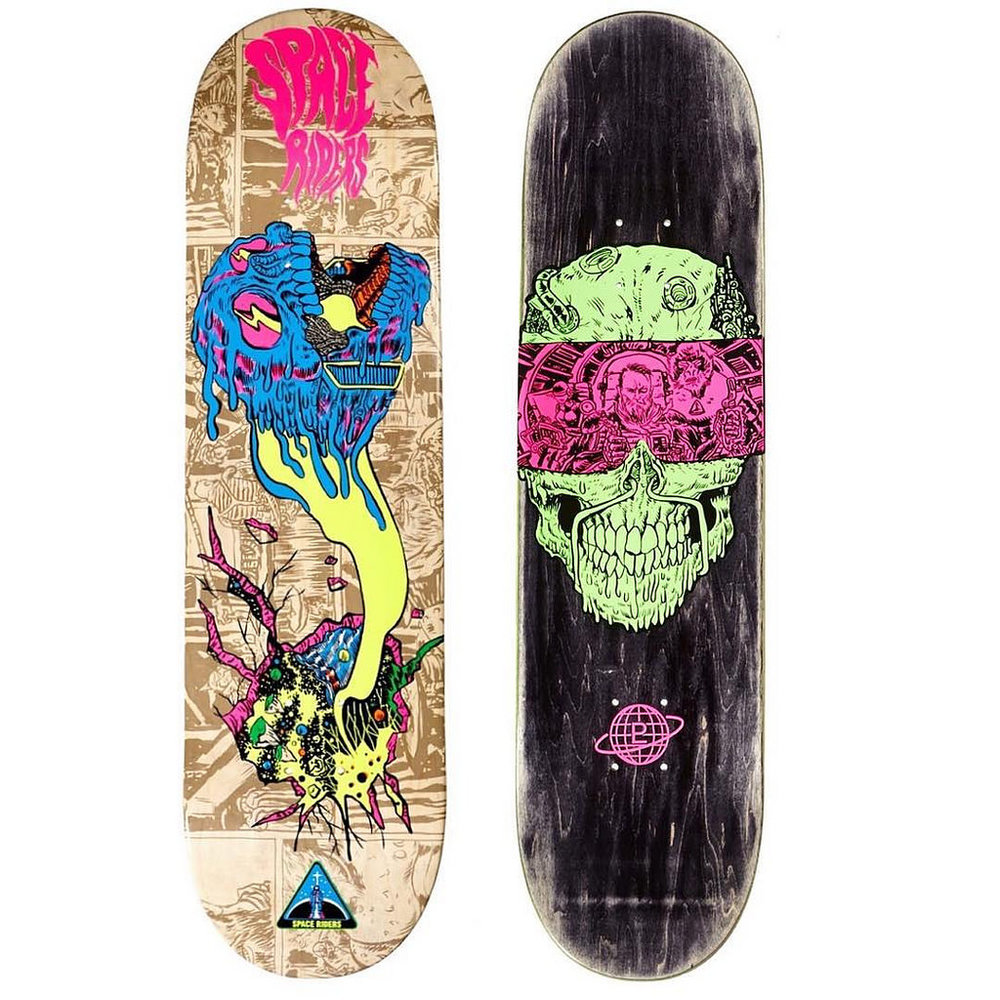 Space Riders Skate Decks