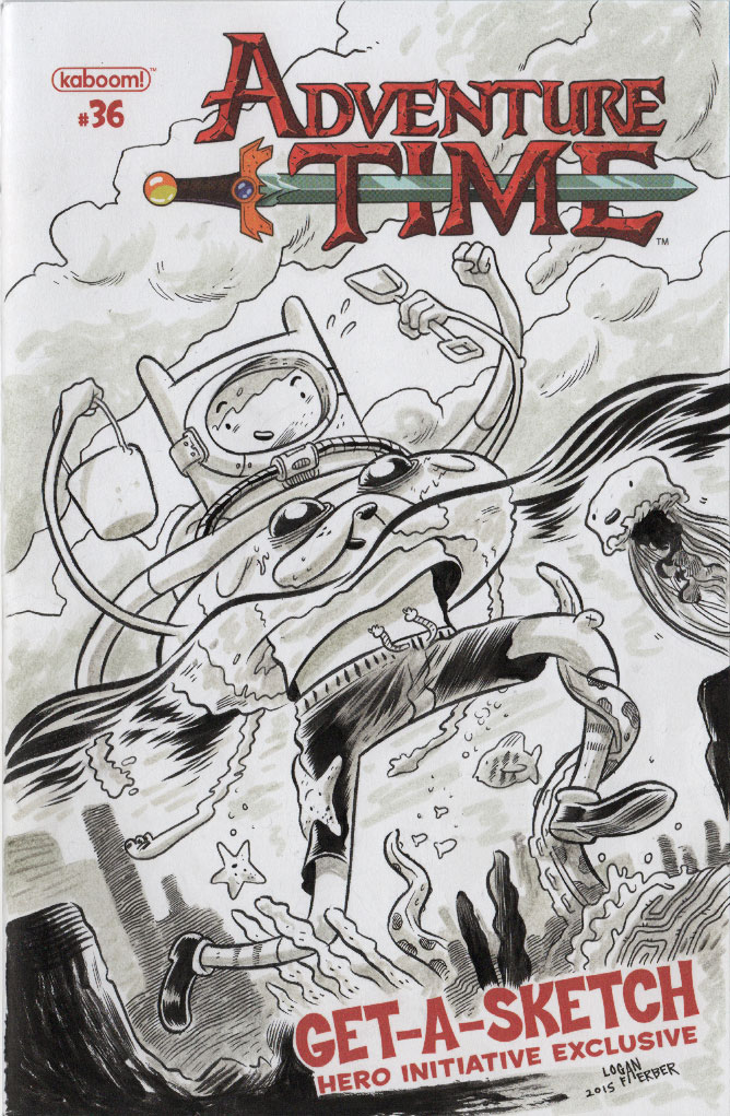 Adventure Time Charity cover