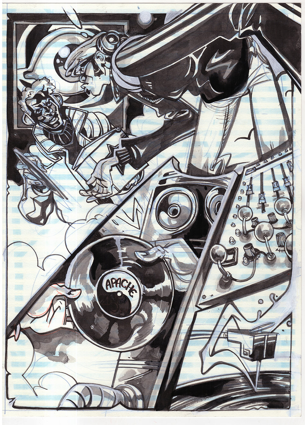 Black Star pages by Chris Visions -