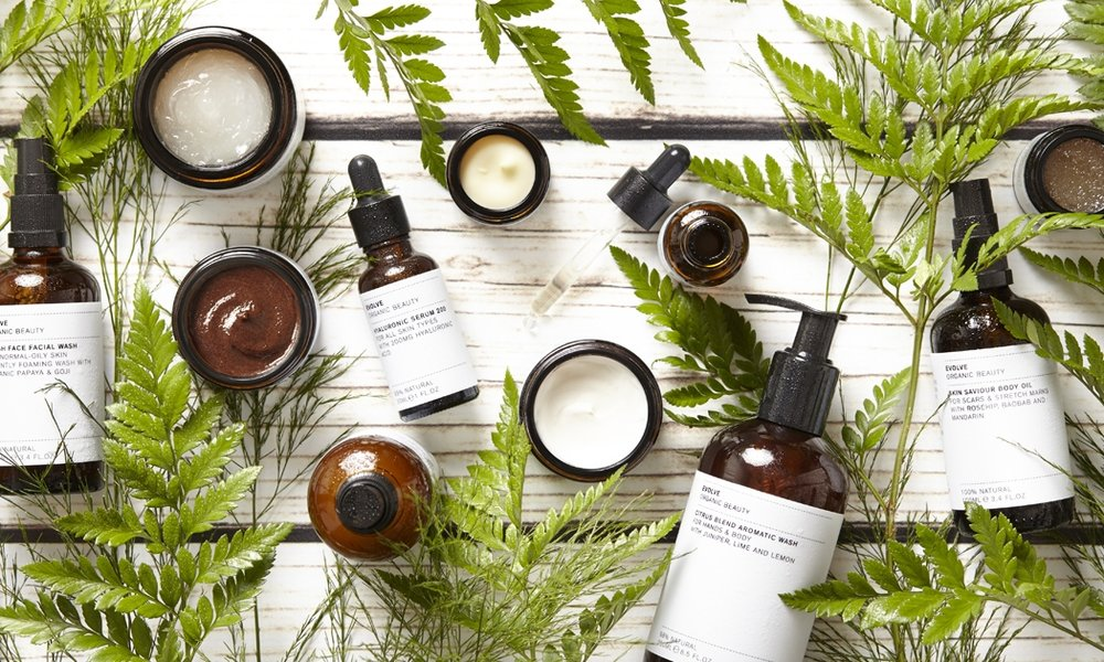 Evolve is an artisanally produced modern apothecary style range, with products for skin, body, hand and hair. It features natural and organic superfoods such as Baobab, Acai, Cacao and Coconut and organic oils such as Argan, Rosehip and Camellia.