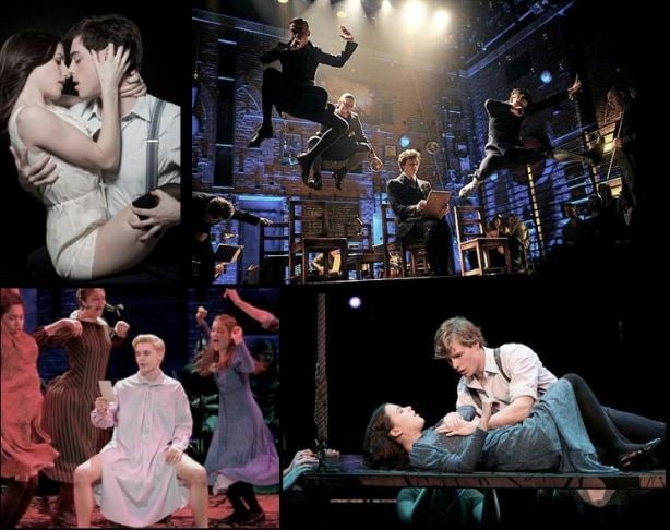 Photographs from Spring Awakening.