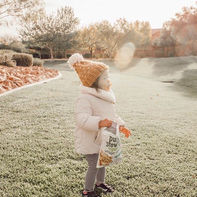 "The littlest member of our #PGOFamily taking some solo time to soak up the sun between adventures. ""Our perfect family day is spent exploring! My girls and I love looking for new spots to explore on the weekends."" @kikhaly"