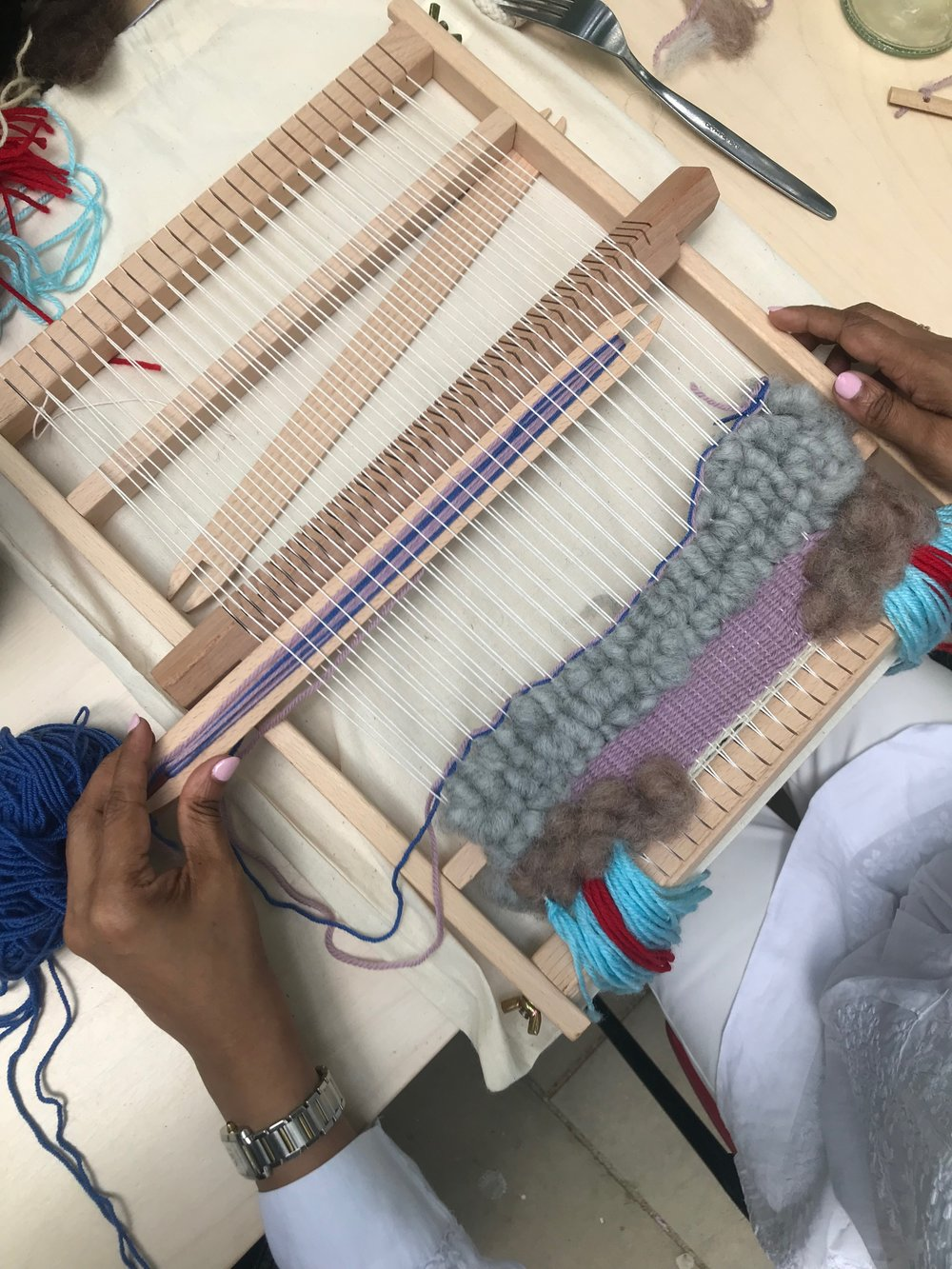 FRAME WEAVING WORKSHOP FROM WASTE - WITH THE MAIYET COLLECTIVE AT HARVEY NICHOLS