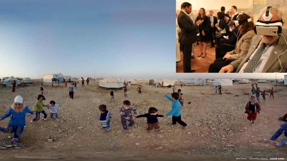 Applying augmented glass has a huge potential to be used for educational purposes. For example, the United Nations made a virtual reality experience of a refugee camp in Syria to generate greater empathy and new perspectives on people living in vulnerable conditions. Now children have easy access to learn the world. (View more information)