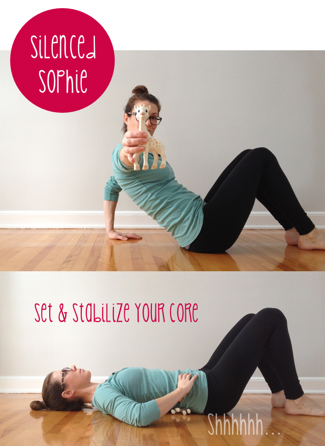 Core strength exercise for postpartum.